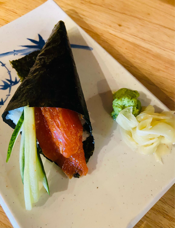 151. Spicy Salmon Cone