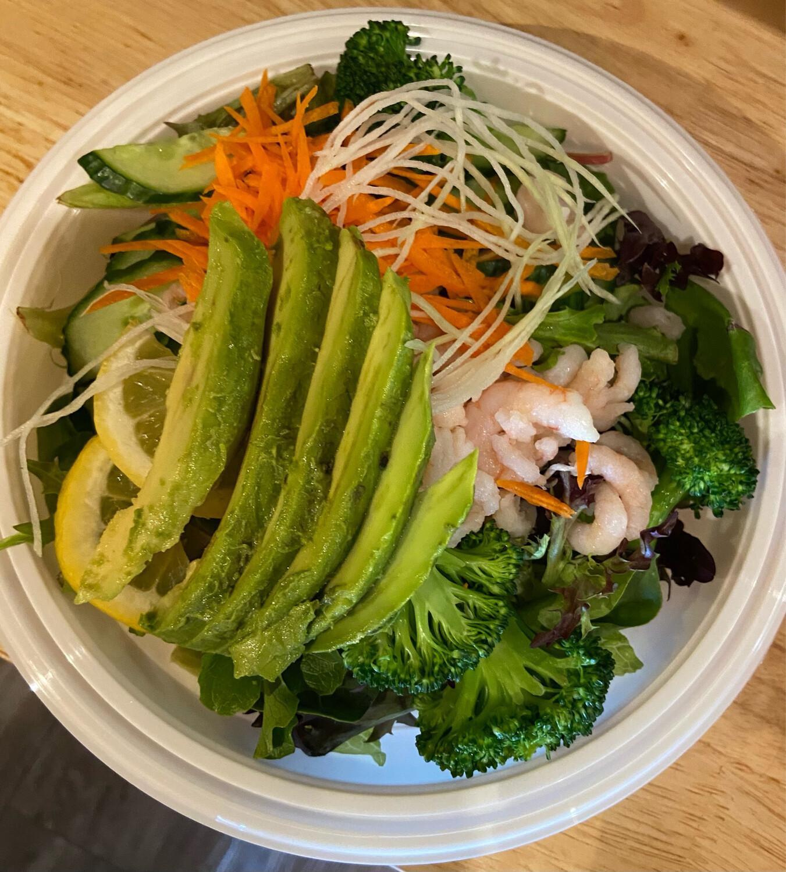 28. Ebi Green Salad