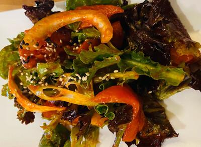 129. Spicy Salmon Sashimi