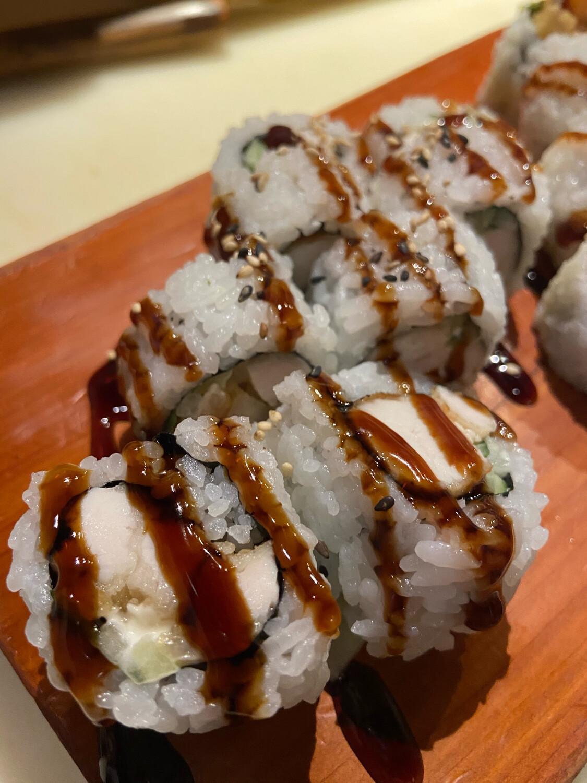 158. Chicken Teriyaki Roll