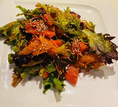 Spicy Tuna & Salmon Sashimi