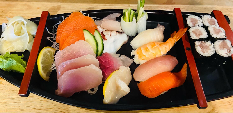 186. Sushi & Sashimi Combo