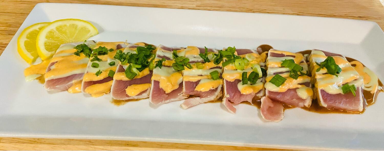 52. Tuna Carpaccio (8 pcs)