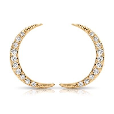 To the Moon Alice Earrings