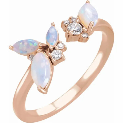October Girl Ring