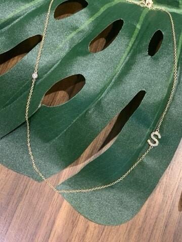 Diamond Girl Necklace