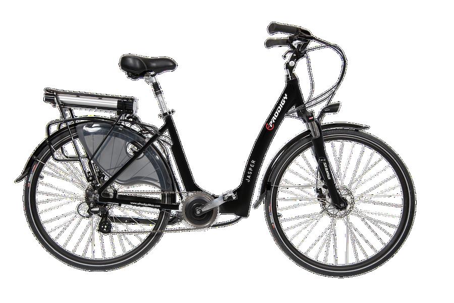 Jasper - Step through E-Bike-48 volt 750 watt-Black-Demo