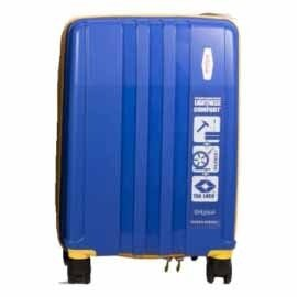 Origami Traveller Suitcase / TravelCase-Blue-Small