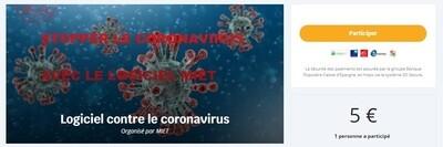 Don contre le coronavirus
