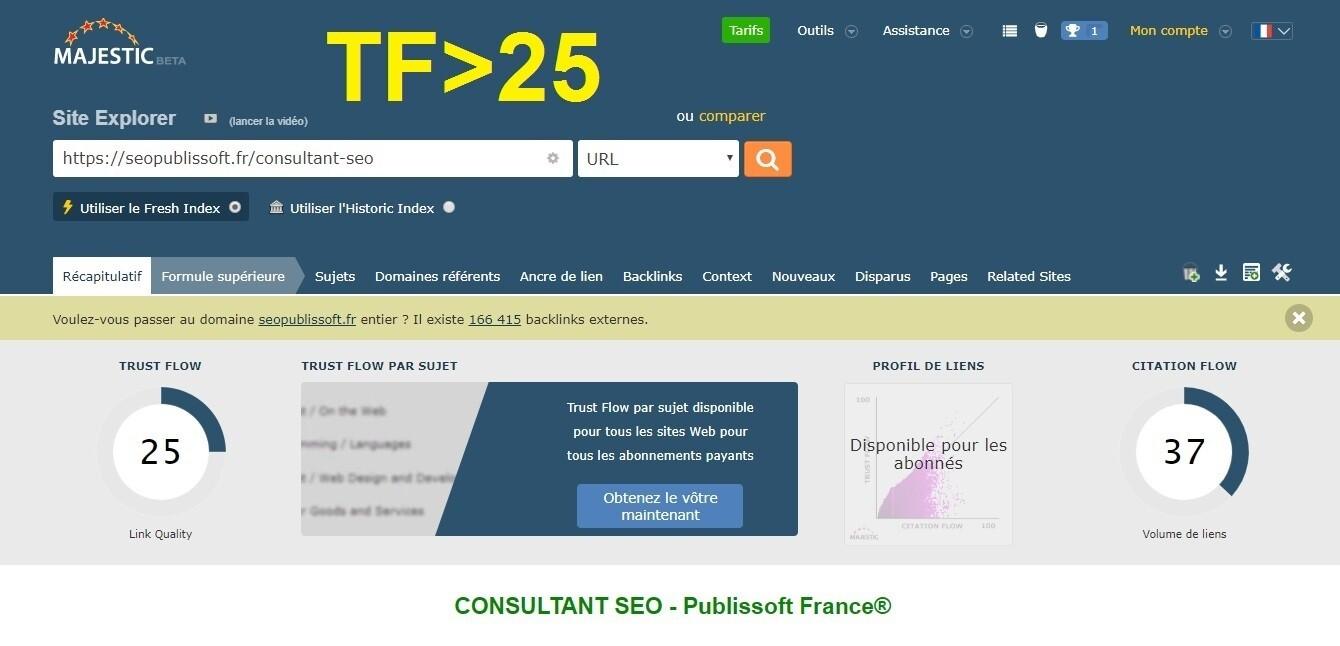 TRUST FLOW - PACK TF 25+