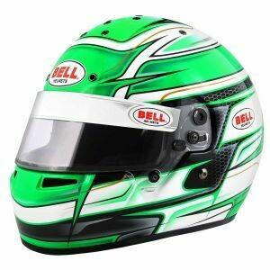 Bell KC7-CMR Kart Helmet - Venom Green