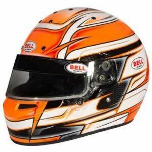 Bell KC7-CMR Kart Helmet - Venom Orange