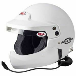 Bell Mag-9 Pro Rally Helmet With Half Chin Bar