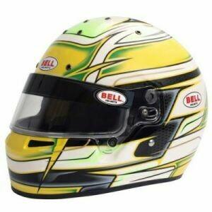 Bell KC7-CMR Kart Helmet - Venom Yellow