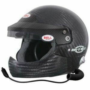Bell Mag-9 Carbon Rally Helmet With Half Chin Bar