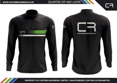 CR Quarter Zip Mid Layer (minimum quantity order of 5)