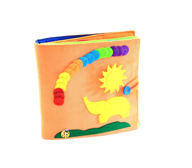 Tantino Orange Educational quiet book
