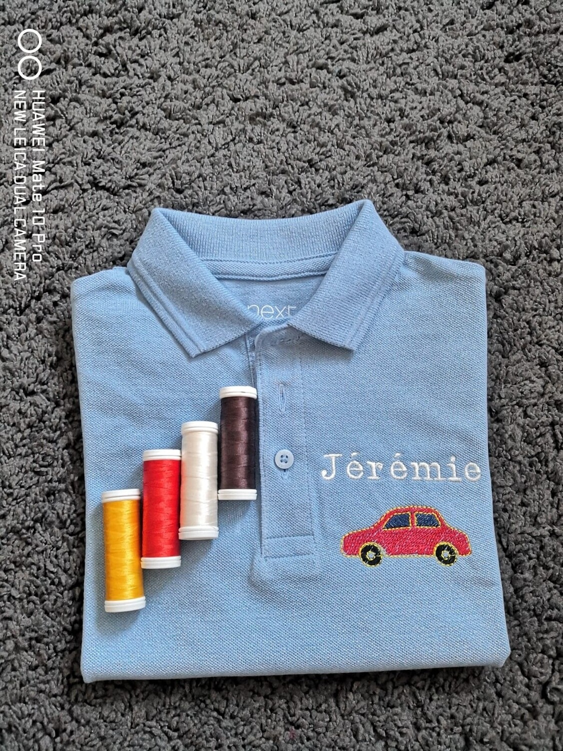 Personalized Embroidered Next Polo Shirts 100% Cotton, Personalized Name , Personalized Text