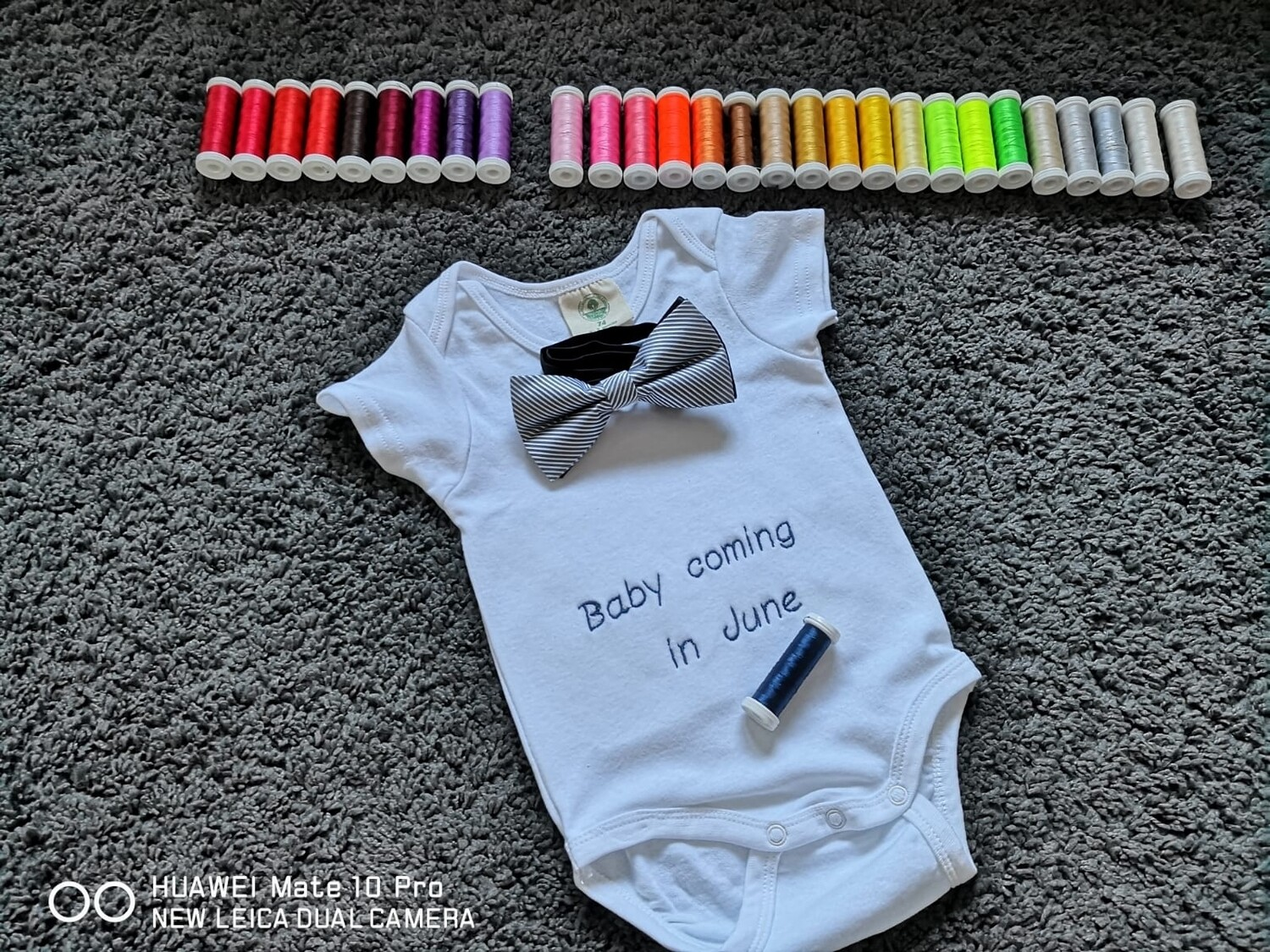 Personalized Embroidered Bodysuit Onesie, Personalized Name, Personalized Text Baby Clothing