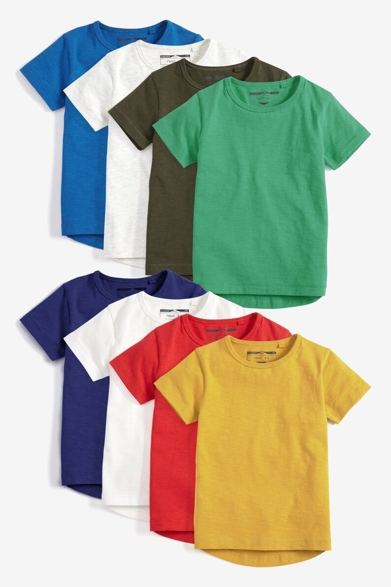 Personalized Embroidered Next Tshirts 100% Cotton Big Brother & Little Brother (two T-Shirts or one T-shirt and one Bodysuit)