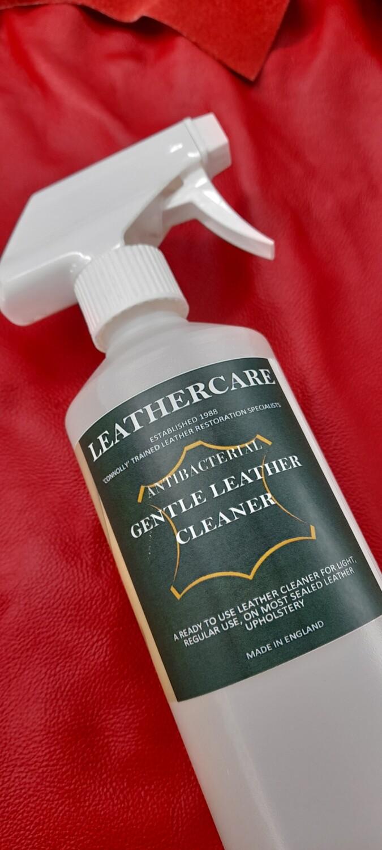 "Gentle ""Antibacterial"" Leathercare Cleaner (500ml)"