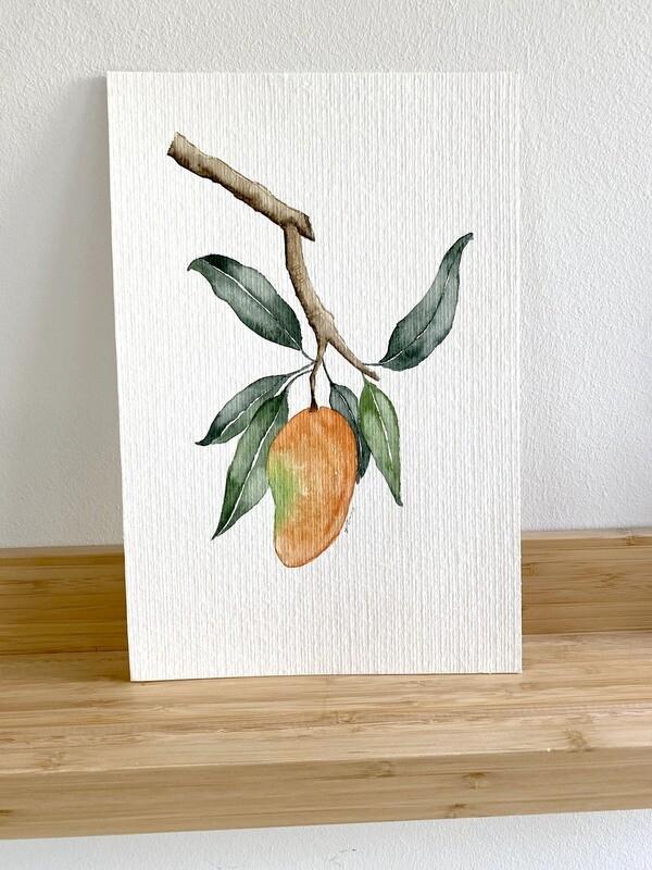 Tropical Mango Botanical