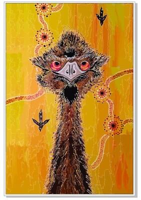 Beach towel 06- Emu
