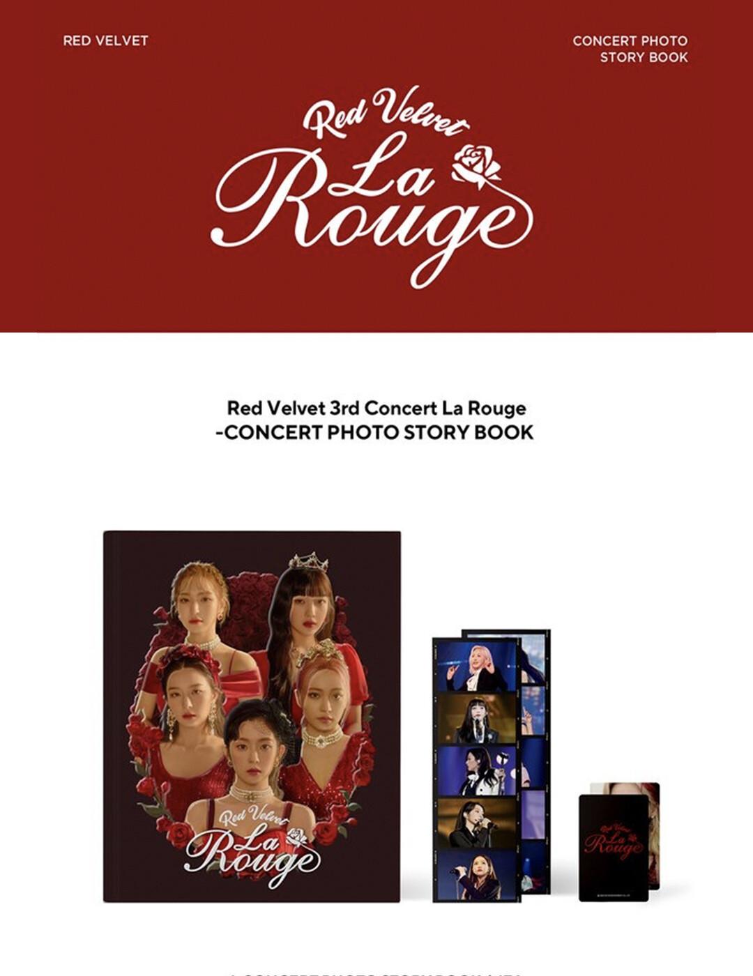 Red Velvet 3rd Concert - La Rouge Photo Concert