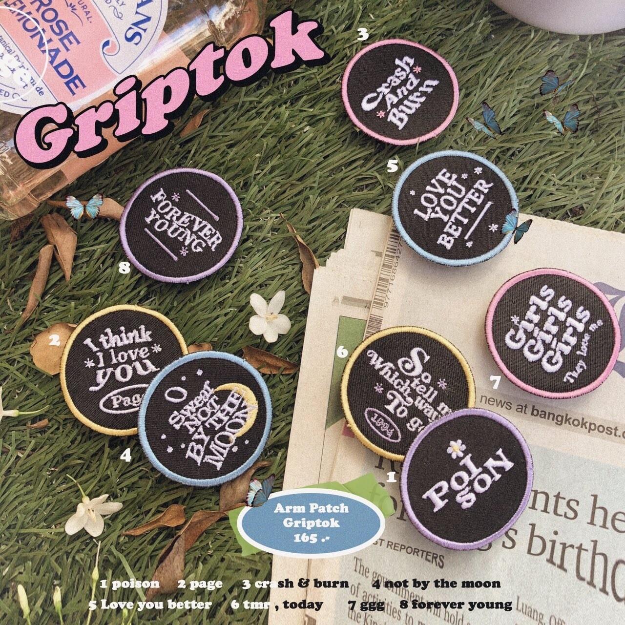 GOT7 Embroided Griptok by WGG K-Shop