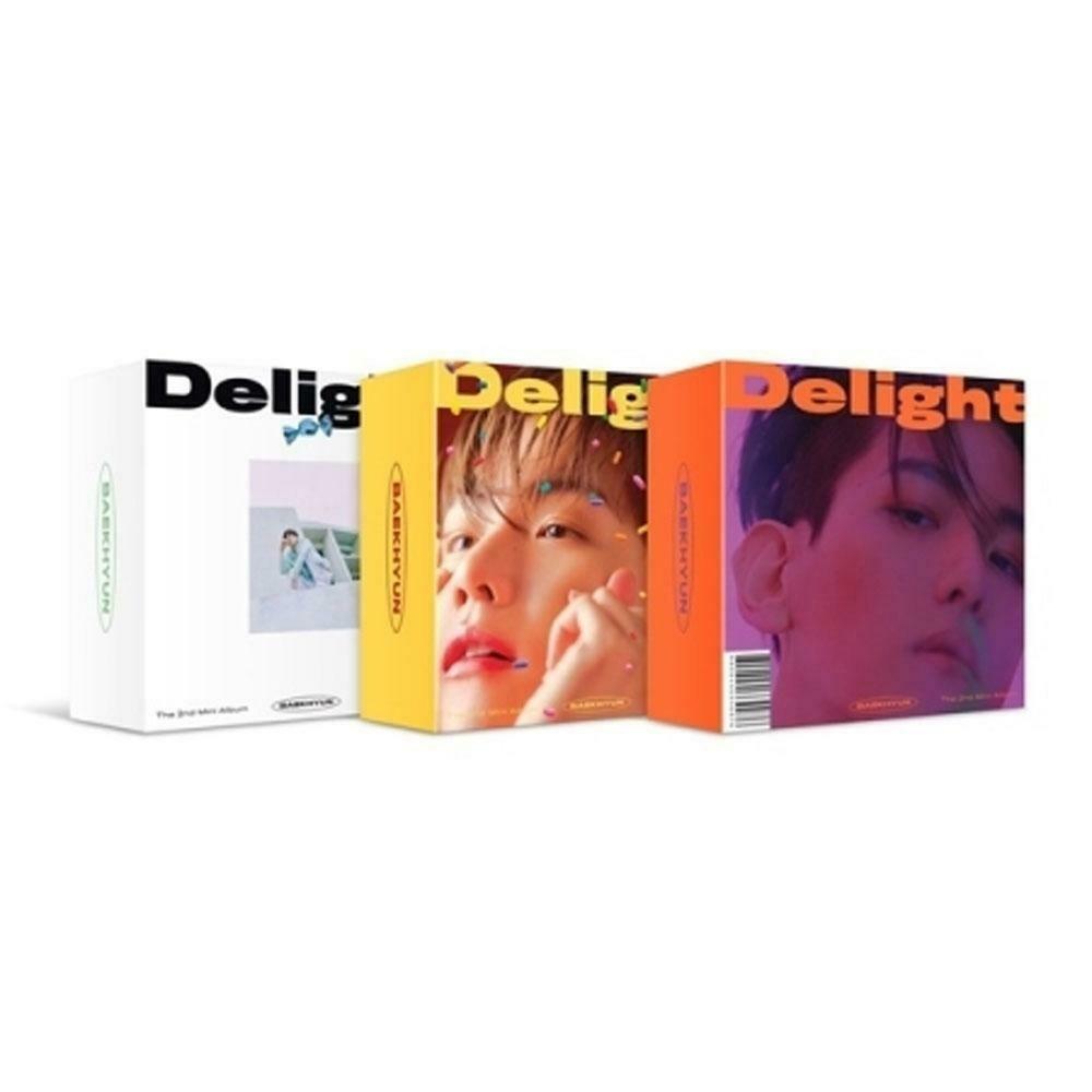 Baekhyun 2nd Mini Album [Delight] - Kit Version