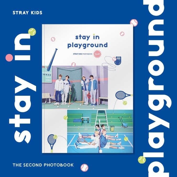 Stray Kids - Stay in Playground 2ND PHOTOBOOK