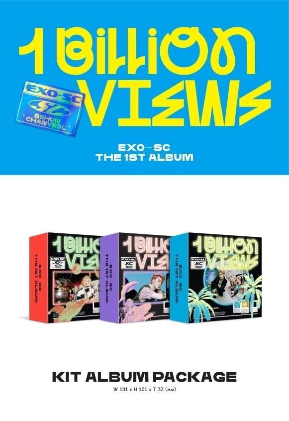 EXO-SC Album Vol. 1 - 1 Billion Views (Kit Ver.)