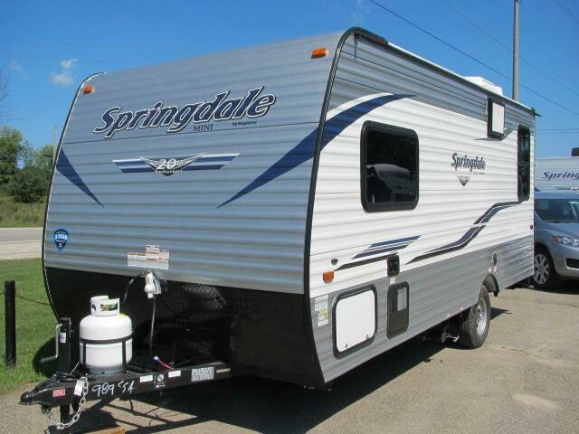 2019 SUMMERLAND 1750RD MINI BY KEYSTONE RV
