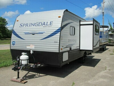 2021 SUMMERLAND MINI 1790FQ BY KEYSTONE RV