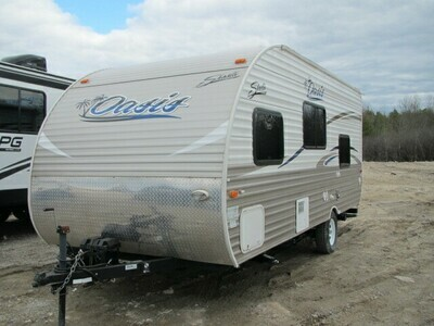 2016 SHASTA OASIS 18BH BY FOREST RIVER