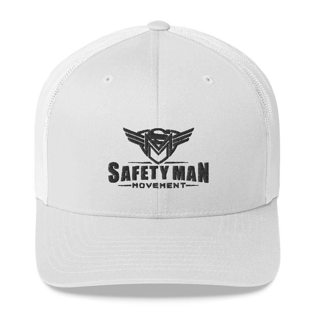 Safety Man Movement Trucker Cap