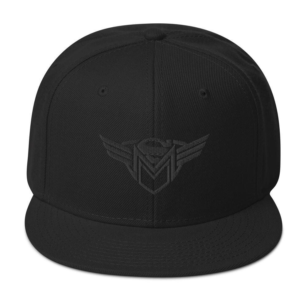 SMM Blackout Snapback Hat