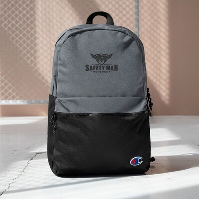 Embroidered Champion Backpack
