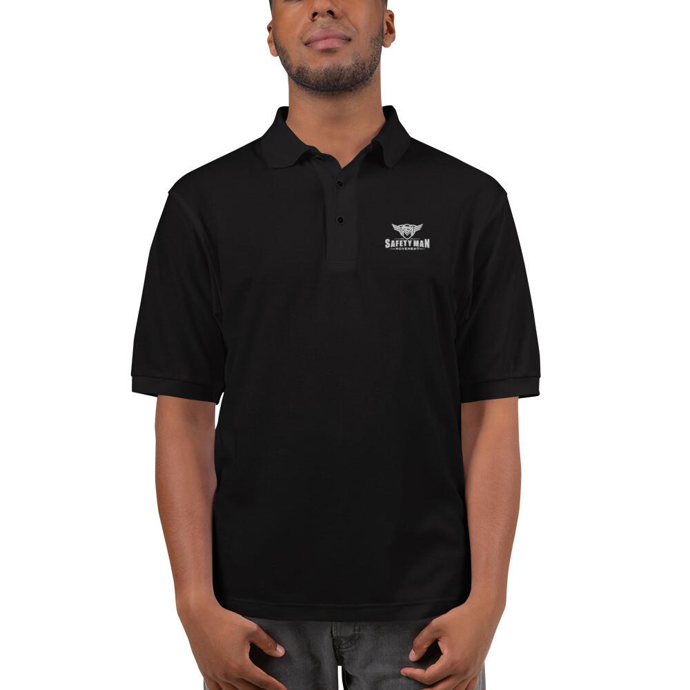 Safety Man Movement Men's Premium Polo