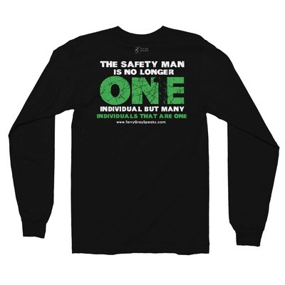 Safety Man Movement Long sleeve t-shirt