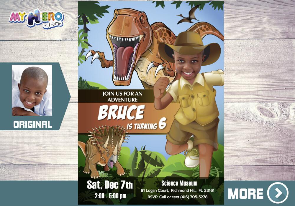 Dinosaurs Birthday Invitation, Jurassic World Part, T-Rex Party invitation, Dinosaurs Drive By Birthday, Dinosaurs Digital Invitation. 208