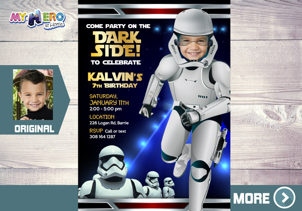 Stormtroopers Invitation. Star Wars Dark Side Birthday. Stormtroopers Theme Party. Stormtroopers party. Stormtrooper Costume. 036