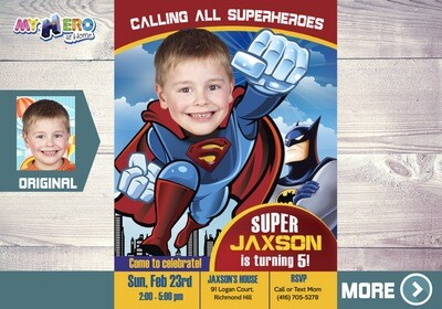 Superman Birthday Invitation. Superman Party. Superman Bday Ideas. Superman Birthday. Fiesta tema Superman. Superman Decoration.123