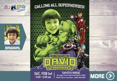 Hulk Avengers Invitation. Hulk Avengers Birthday. Hulk Avengers Party. Incredible Hulk Invitation. Hulk Party Ideas. Hulk Decoration. 378