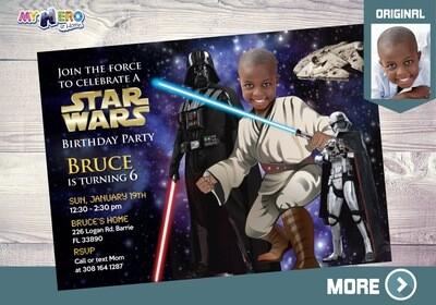 Star Wars Invitation. Turn your kid into a Jedi. Star Wars Party. Jedi Party Ideas. Jedi Invitation. Star Wars Birthday. Jedi Costume. 005AA