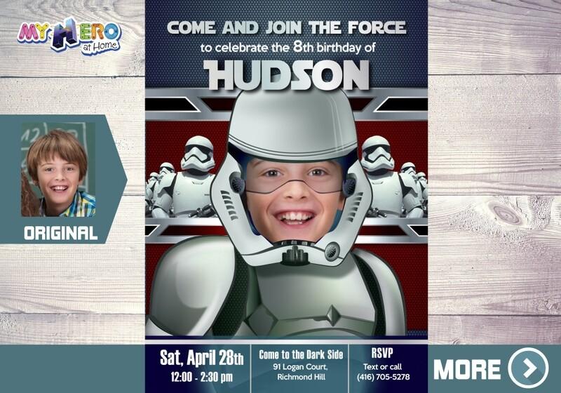 Stormtrooper Invitation. Star Wars Dark Side Party. Stormtrooper Party. Stormtrooper Birthday. Dark Side Invitation. Star Wars Party. 035