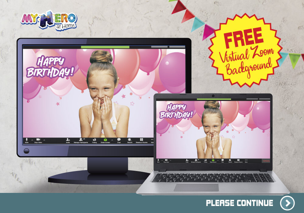 Free Zoom Background Happy Birthday. Free Girly Zoom Virtual Background. Custom Background for Zoom. Personalize your Zoom Virtual Party. ZB2