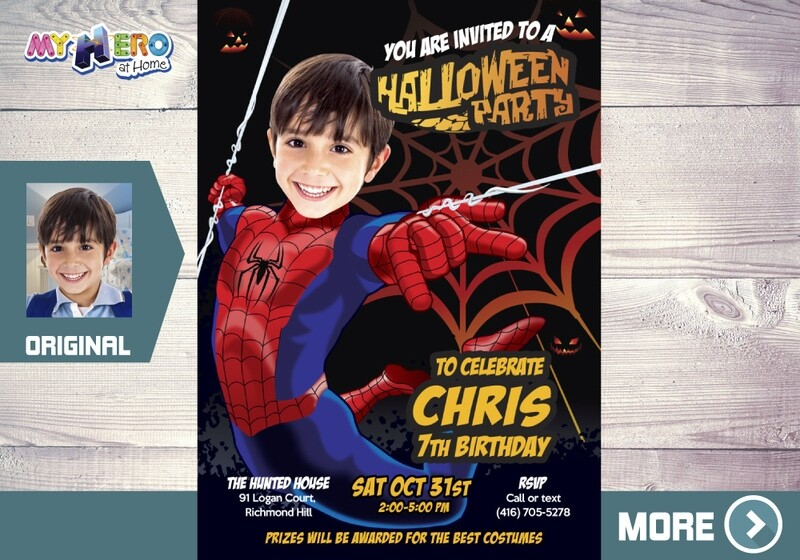 Spider-Man Halloween Party Invitation. Halloween Party Spiderman. Avengers Halloween Party. Halloween party theme Avengers. 104