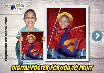 Spider-Man Poster, Spider-Man Decoration, Spider-Man Art, Spider-Man Fans, Spider-Man Gifts, Avengers Decoration, Avengers Gifts Fans. 470