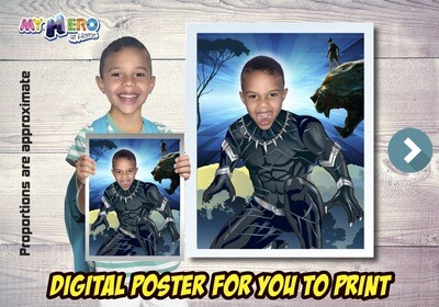 Black Panther Poster, Black Panther Decoration, Black Panther Art, Black Panther Fans, Black Panther Gifts, Avengers Decor. 472
